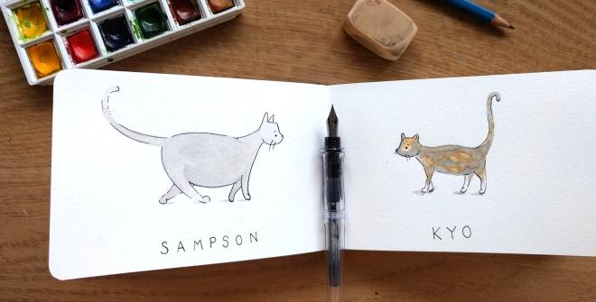 sketchcats1